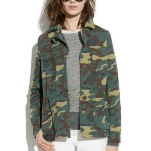 Madewell Outbound Jacket in Camo - Size S